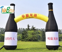 ThanBetter inflatable beer bottle arch / Bottle Replica Inflatable Arch Model / Customized Fruit Juice Advertising for promotion