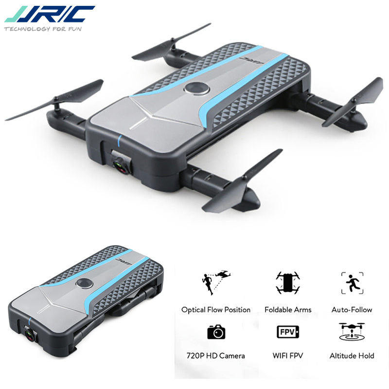 Jjrc h62 esplendor braço dobrável wifi fpv selfie zangão com 720 p câmera de posicionamento fluxo óptico rc quadcopter bnf