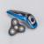 Hombres máquina de afeitar eléctrica 4d recargable máquinas de afeitar eléctricas para los hombres 4 tecnología de la máquina de afeitar maquinilla de afeitar para philips yr-9817xp
