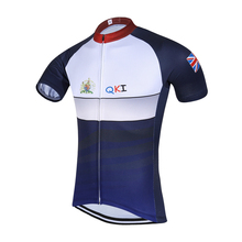 2017 QKI Britain National Short Sleeves Cycling Jersey Cycling Shirt  Maillot Cycling Clothing Wear Ropa Ciclismo