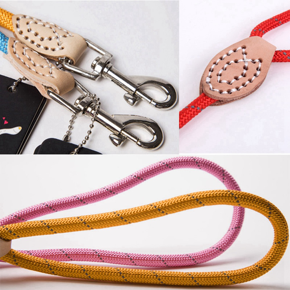 Pet Products Dog Leash Nylon Reflective Puppy Dog Leash Rope Cat Chihuahua Pet Leash And Collar Set Cat Dog Leashes Lead Harness (15)