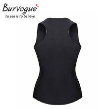 Burvogue New Shaper Vest Women Waist Trainer Thermo Body Shaper Belts Slimming Shaper Firm Control Waist Cincher Shapewear Plus