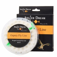 Angler Dream Brand 100FT Weight Forward Fly Fishing Line WF 1F 2F 3F 4F 5F 6F