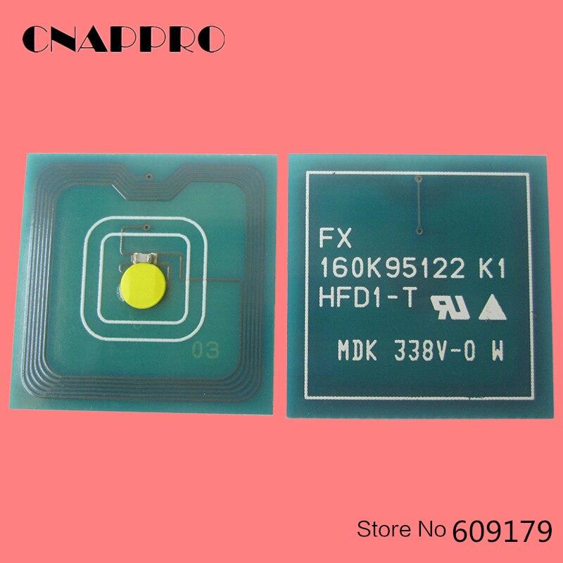 4PCS Phaser 7760 Toner Chip For Xerox Phaser C7760 7760dn 7760dx PhaserC7760 Phaser7760dn Phaser7760dx 106R01163 cartridge Chips
