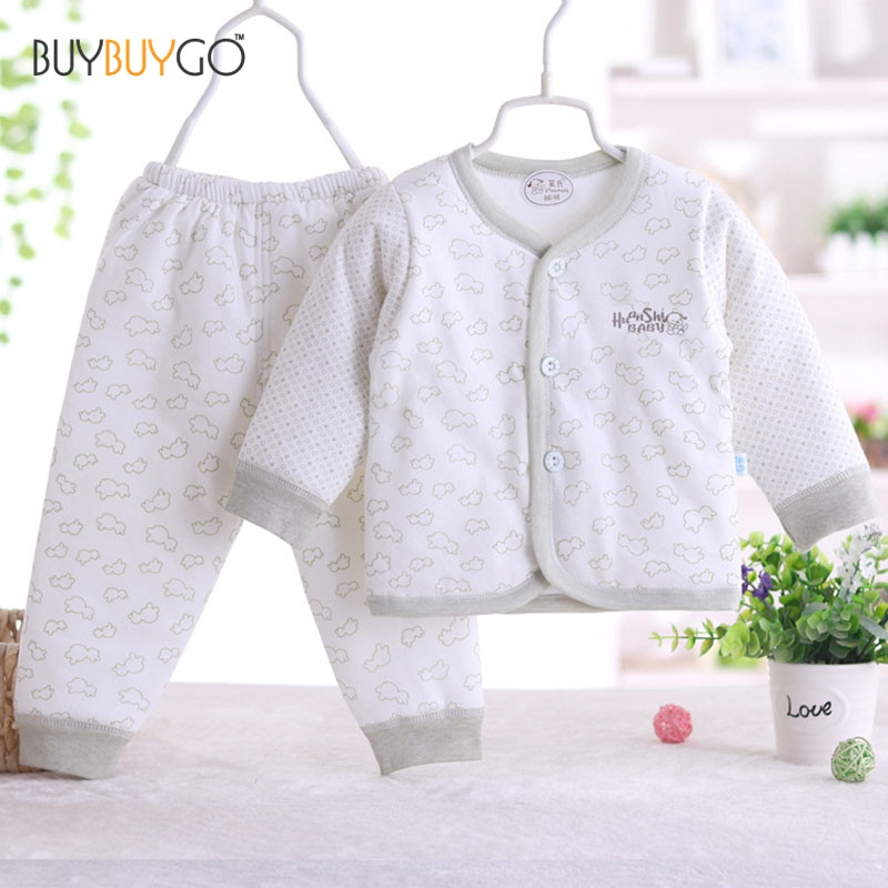 Baby's Sets Boy Girl Clothes With Baby Tops Pants 100% Cotton Long Sleeve Newborn Clothing criancas Definir Roupas de bebe newborn baby boy girl 5 pcs clothing set cotton cartoon monk tops pants bib hats infant clothes 0 3 months hight quality