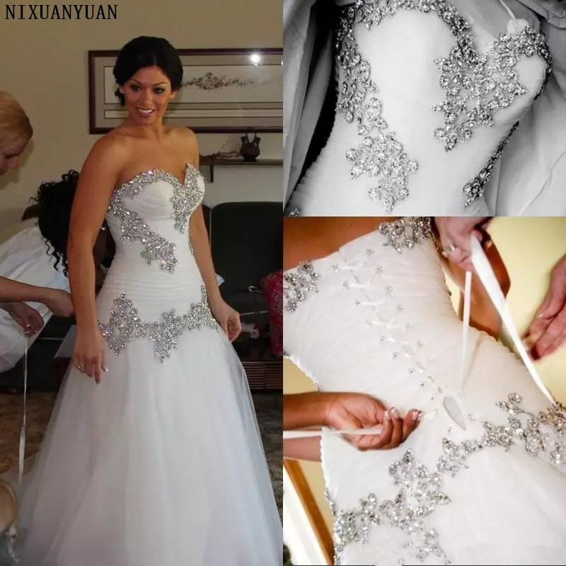 Best Top Bling Mermaid Tulle Wedding Dresses List And Get Free Shipping Bn6648k7