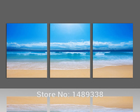 Sandy Beach Prints Picture Home Decoration Picture Print Paintings Beautiful Canvas Art Cheap Chinese Painting 3
