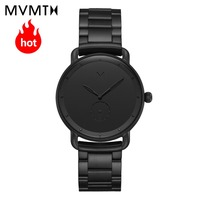 MVMT watch Official flagship store Genuine fashion European and American fashion style men's male watch genuine leather watch
