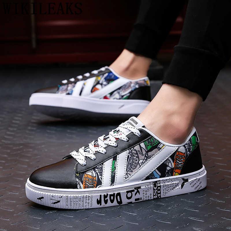 Da bình thường giày người đàn ông sang trọng thương hiệu hip hop giày thiết kế giày người đàn ông giày chất lượng cao zapatillas hombre erkek spor ayakkabi tenis