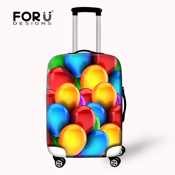 Creative Printing Organ Candy Color Protective Waterproof Luggage Cover for Travel 18-30 inch Trolley Suitcase Dust Rain Cover