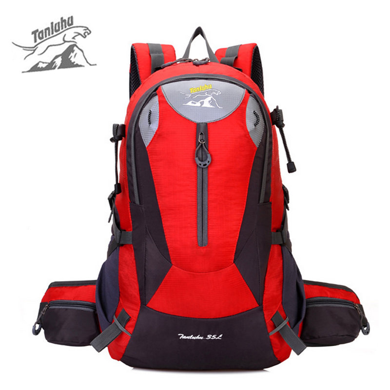 Outdoor Climbing Travel Shoulder Backpack Mountain Hiking Camping Bag Nylon Big Capacity Waterproof Breathable Bag XA256WD 40l waterproof nylon travel backpack outdoor mountain camping backpack nylon bag fashion climbing hiking cycling backpack bolsa