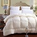 Зимнее лоскутное одеяло из овечьей шерсти  теплое одеяло из верблюжьего хлопка  плотное одеяло king queen size  один двойной кашемир