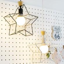 Современный креативный дизайн подвесной светильник балкон лестницы Корейский учиться подвесные светильники бар ресторан кухня декоративное освещение