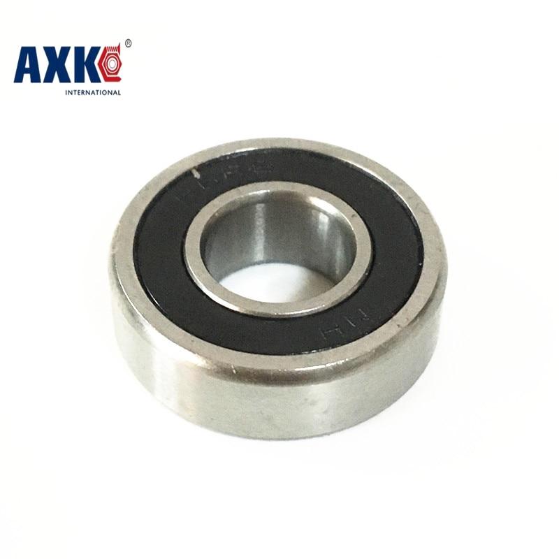 1pcs 7003 7003C 2RZ P4 17x35x10 AXK Sealed Angular Contact Bearings Speed Spindle Bearings CNC ABEC-7 original 7003 ac p5 angular contact ball bearings 17 35 10