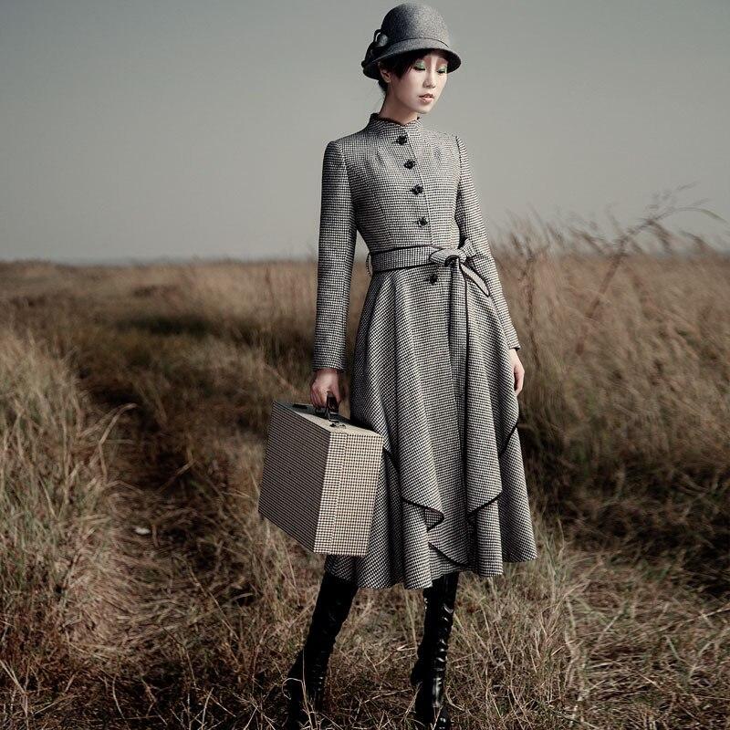 long dress coat - Dress Yp