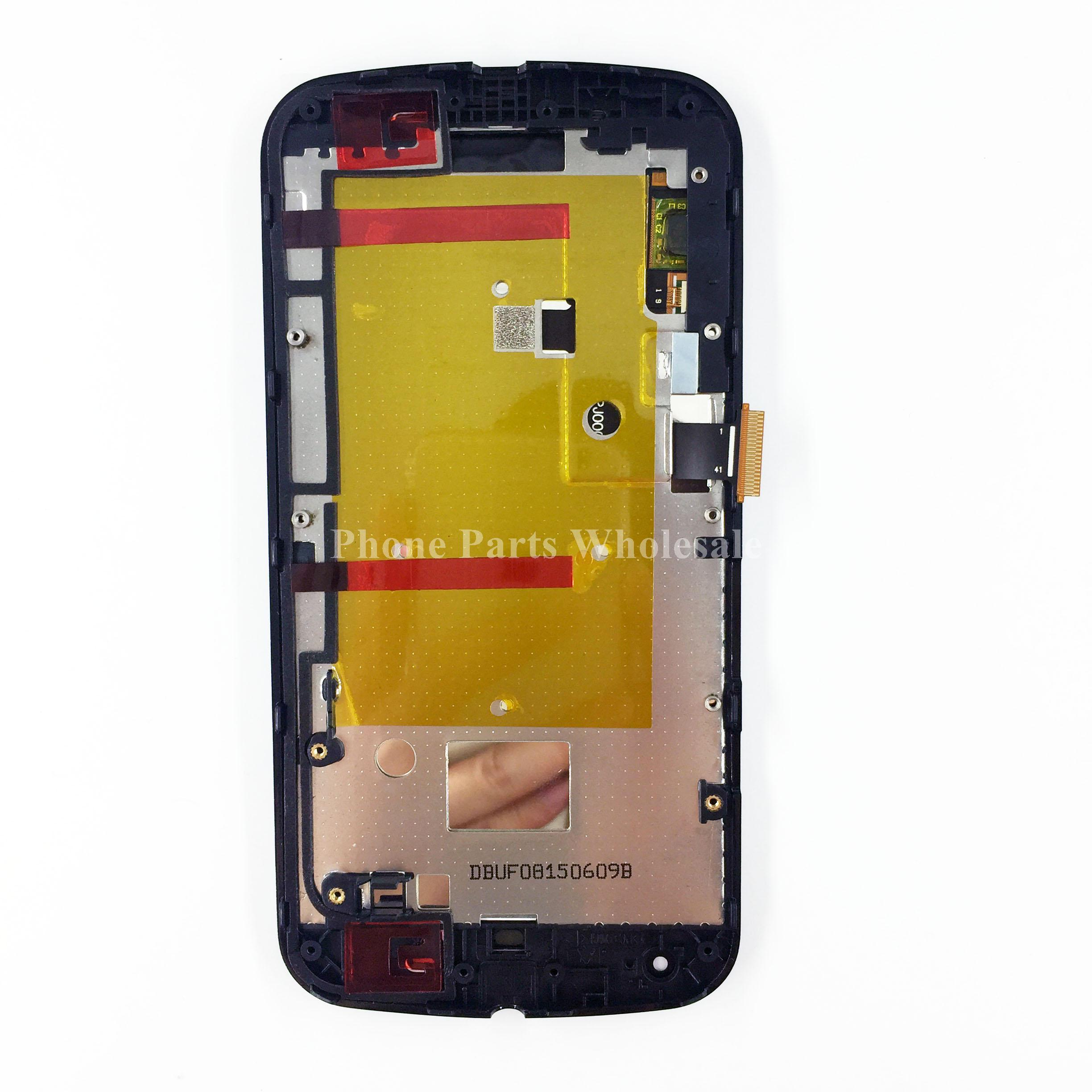 ФОТО For Motorola Moto G2 XT1068 XT1069 XT1063 LCD Display+Touch Screen Digitizer Glass Panel Replacement Parts
