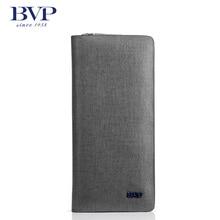 BVP High-end Men Genuine Leather Zipper Clutch Bag Organizer Purse Checkbook Receipt Holder Business Stone Pattern Handbag S3002