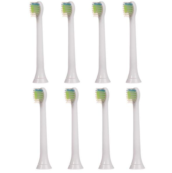 8pcs/2 Packs New Oral Hygiene Replace Soft Bristle Electric Toothbrush Heads For Philips Sonicare Diamond Clean HX6074 HX6072/66 2pcs for philips sonicare e series replacement electric toothbrush heads hx7001 hx 7002 hx7022 for oral hygiene christ gift