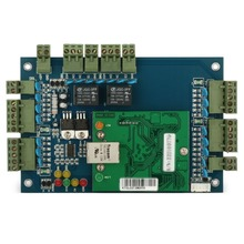 TCP/IP LAN socket RFID IC reader 2 door access controller access control panel board for enter door access control system
