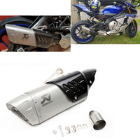 Motorcycle Carbon Fiber Slip On Akrapovic yoshimura Exhaust Muffler For YAMAHA R6 or Other Hot Model