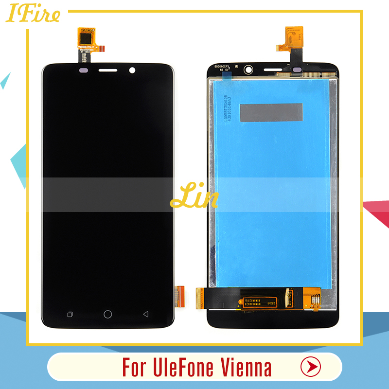 Ifire 5.5 inches For UleFone Vienna LCD Display with TP Touch Screen Digitizer Assemble For UleFone Vienna 1920X1080 lcd glass
