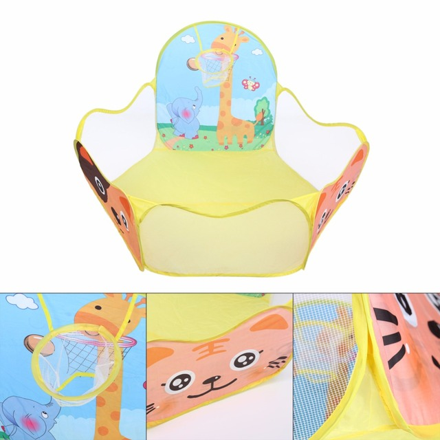 120*120cm Colorful Children Tent Ocean Ball Pool Game Play Tent Outdoor Kids House Play Hut Pool piscina de bolinha