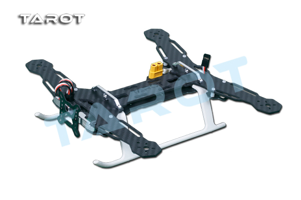 ФОТО TAROT Mini 250 Carbon Metal Quad copter main frame Kit Built-in PCB board TL250A
