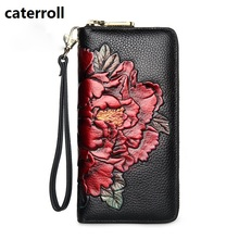 genuine leather women wallets long floral female purse luxury brand clutch wallet real leather ladies wallets and purses new long women wallet real leather purse luxury brand women wallets and purses famous designer ladies coin purse
