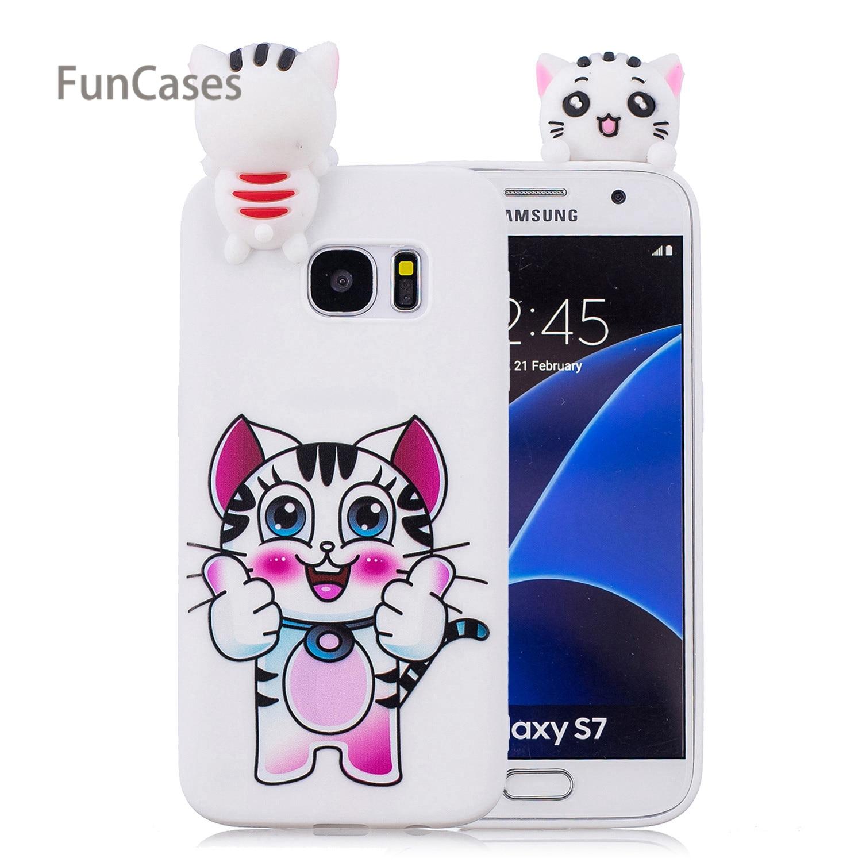 Handsome Bear <font><b>Phone</b></font> <font><b>Case</b></font> sFor Ajax Samsung S7 Soft Silicone Back Cover Fundas Metallic Rhinestone <font><b>Case</b></font> For Samsung Galaxy S7 Bag
