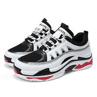 Plus Size 39 48 Men Shoes Men Casual Shoes Heighten Platform Fashion Sneakers Men Chaussure Homme Mans Footwear