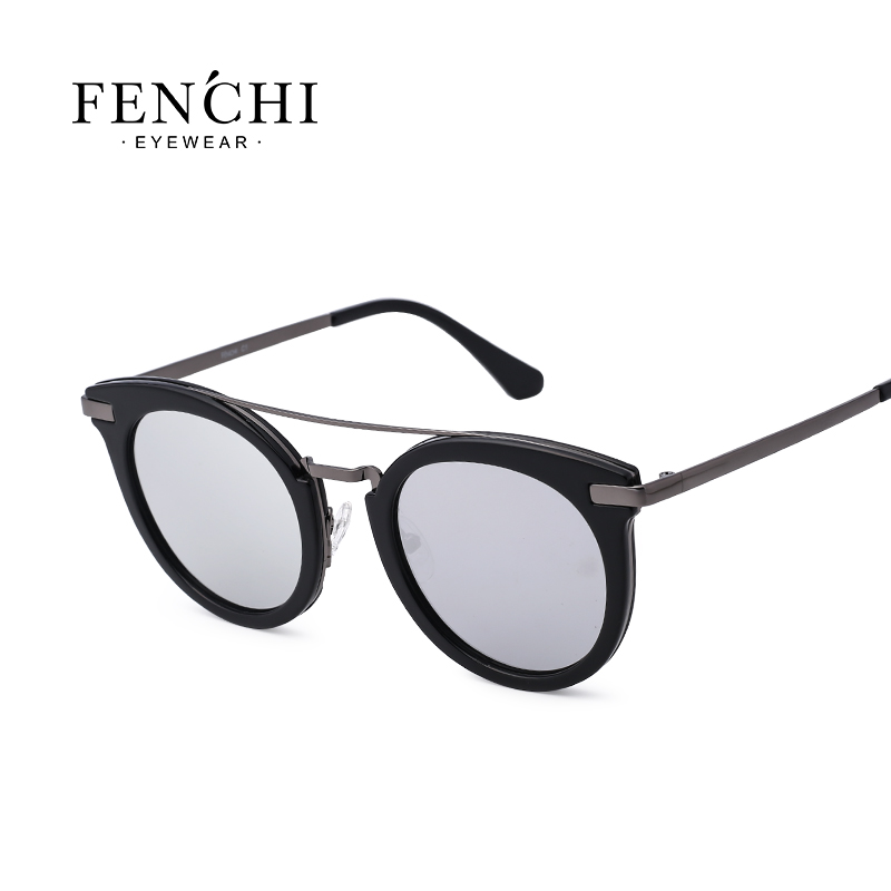2019 new polarized lady sunglasses fashion trend frame series sunglasses 4