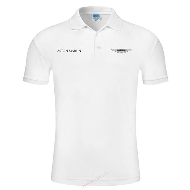 a6bd3c4a6f0 Short Sleeves 2019 Summer Fashion Men Brand aston martin Polo Shirt Men New  Men s Polo Shirt