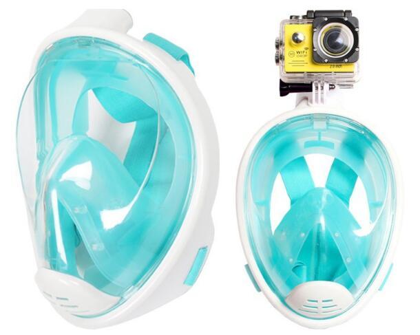 Masque de plongée pour enfants adultes masque de plongée complet et sec