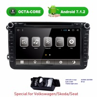 8 Inch 2 Din Android 7 1 Car Gps Radio Stereo Car Dvd Player For VW