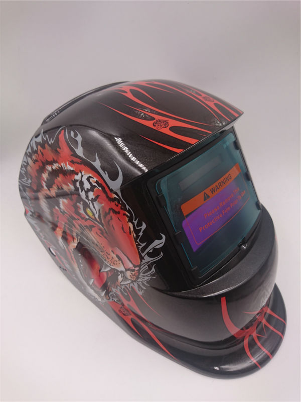 цены  FREE SHIPPING tiger Solar Auto darkening welding helmet/face welding mask/Electric welder mask/caps EH680/EF9040G