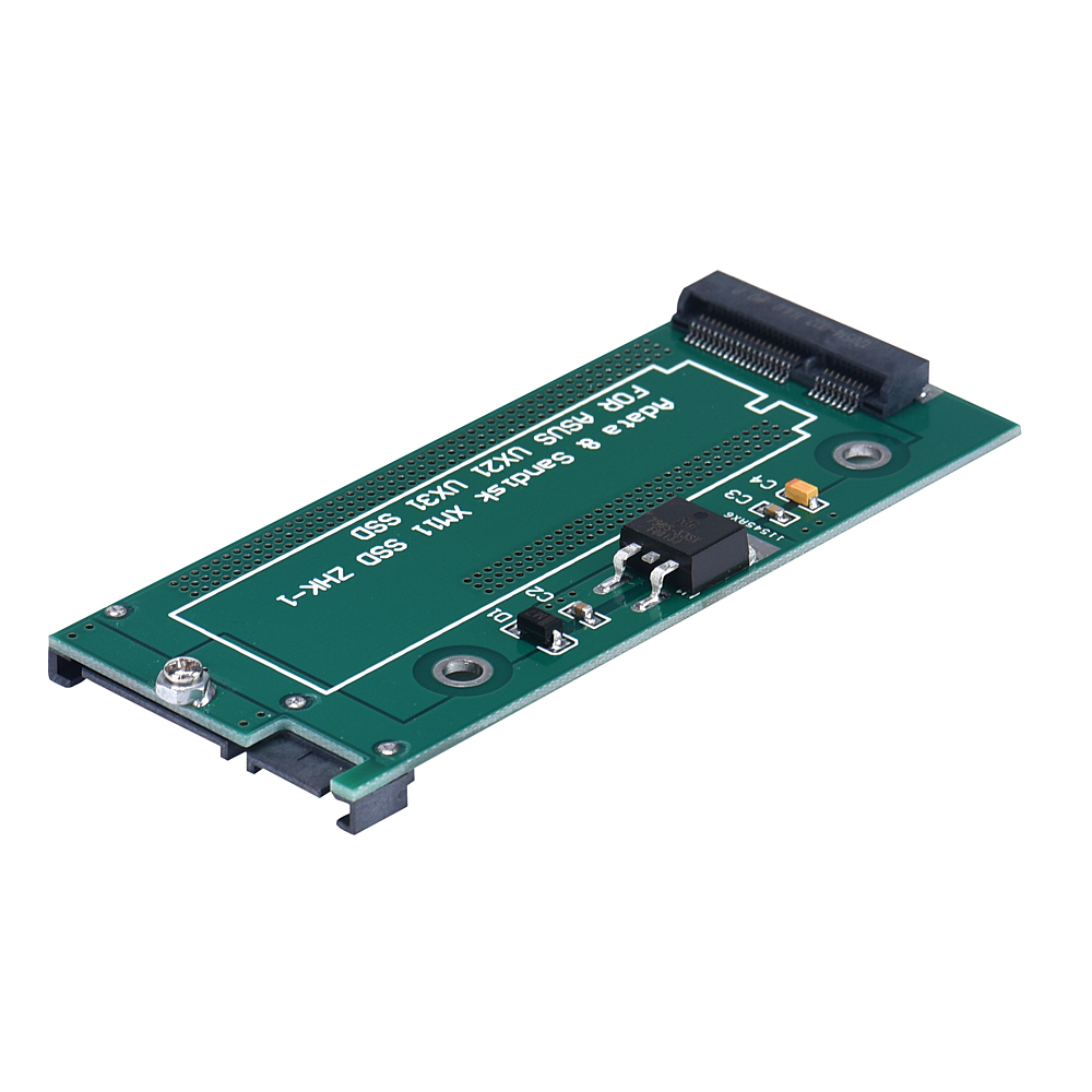 MSATA To SATA For Asus UX31 UX21 XM11 SSD Adapter