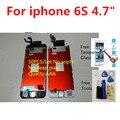 4.7 polegada +++ aaa qualidade 6 s tela lcd completa para iphone 6 s 50 pcs 100% genuine 6 s montagem 3d tela sensível ao toque de substituição de exibição