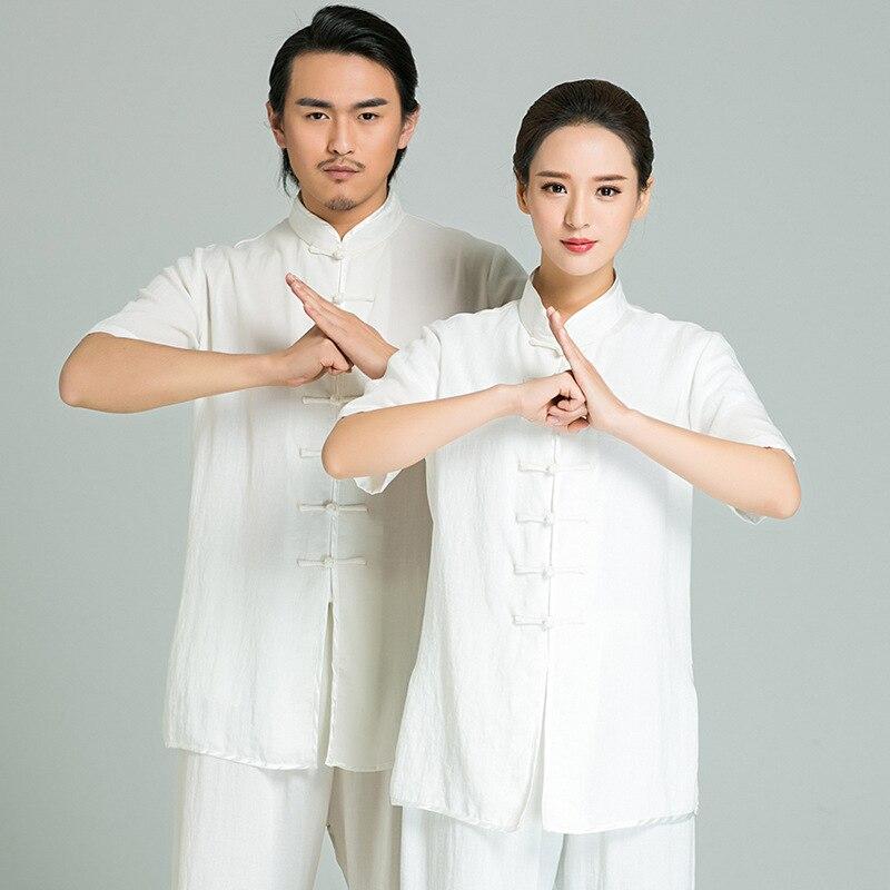New Chinese Kung Fu Suit Tai Chi Clothing Long Sleeve Martial Art Uniform Wushu Taiji Taijiquan Practice Sets For Men Women Kids