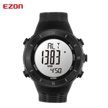 EZON outdoor sports watch men and women watch compass thermometer altitude mountaineering lovers table electronic table