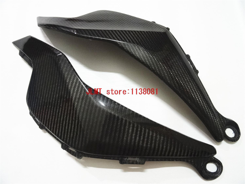 Carbon Fiber Tank Side Cover Panel FAIRING For Cbr1000 RRCBR1000RR Fireblade CBR 1000 RR 2012 2013 2014 14 13 12