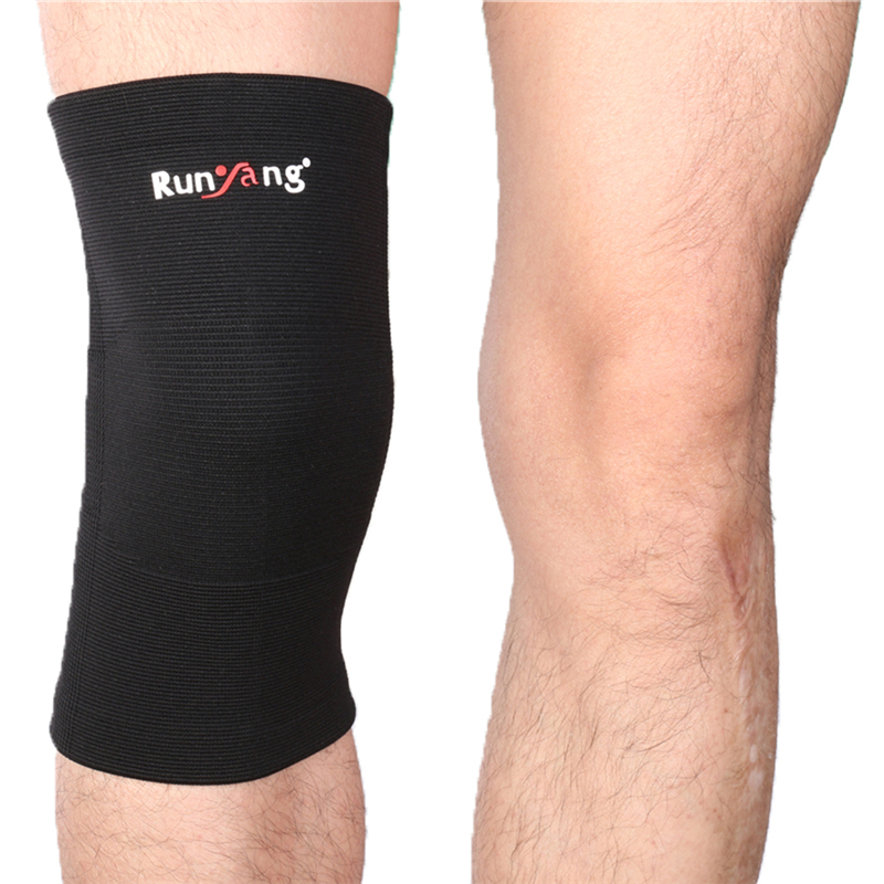Classic Knitting Keep Warm Sports Knee Sleeve Brace Guard Pad Protector Running Riding Hiking Protect Knee Equipment