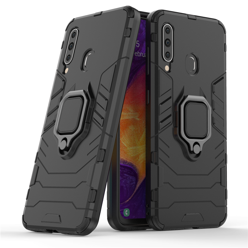 For Samsung Galaxy A60 Case Magnetic Finger Ring Kickstand Hard Phone Case For Samsung Galaxy A60 Cover For Samsung A60 Case-in Fitted Cases from Cellphones & Telecommunications