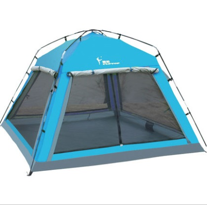 Flytop 3-4 person waterproof family party picnic BBQ hiking travel beach fishing canopy awning road trip outdoor camping tent outdoor camping hiking automatic camping tent 4person double layer family tent sun shelter gazebo beach tent awning tourist tent