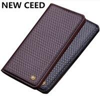 Genuine leather magnetic mobile phone case for Xiaomi Redmi 5 Plus/Redmi Note 4 /Redmi Note 4X phone bag case stand case coque