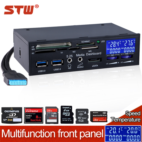 STW hot selling PC internal memory USB 3 0 All in 1 5 25