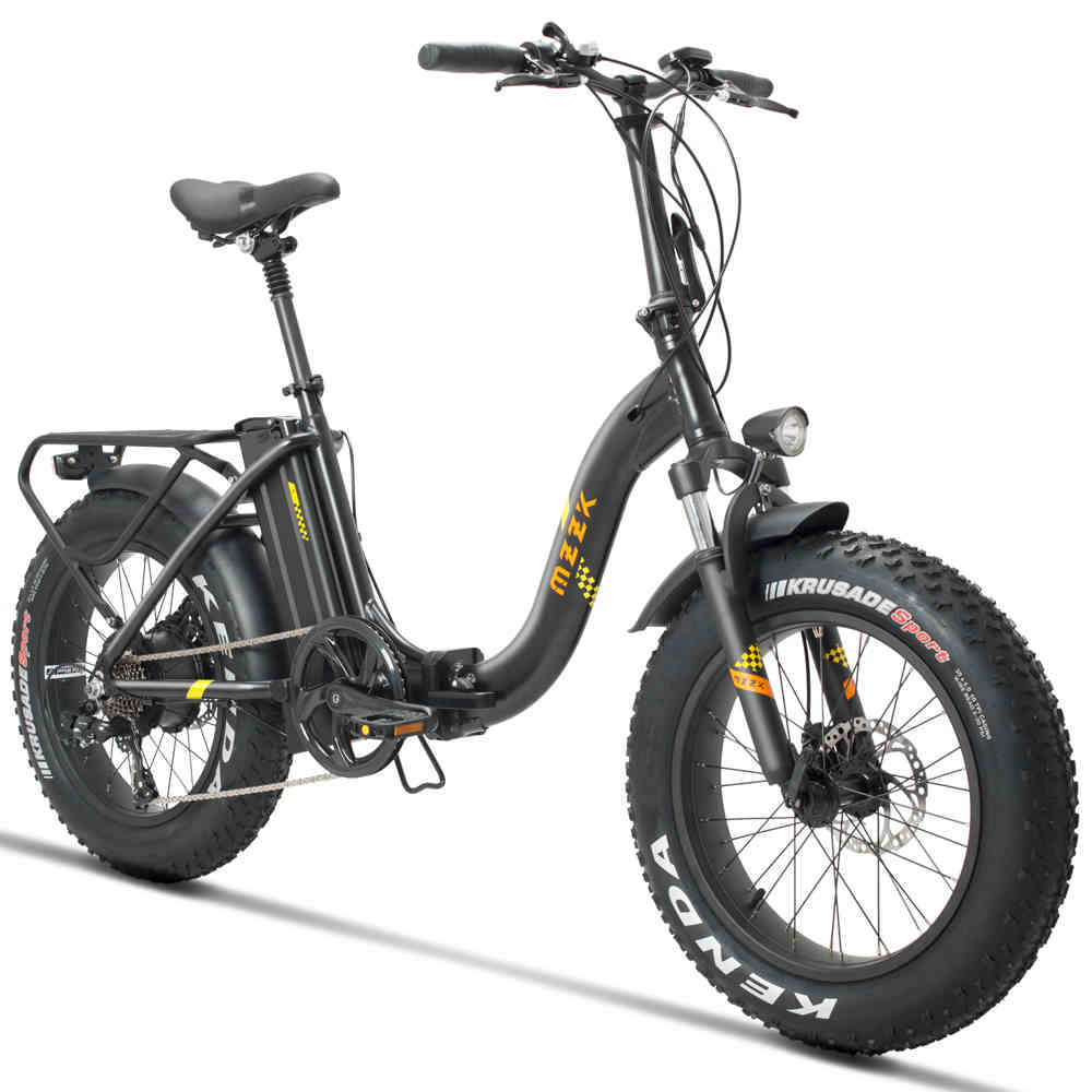 20inch electric bicycle Fat snow ebike 4 0 tires Beach electric bicycle 48V 500w fold electric