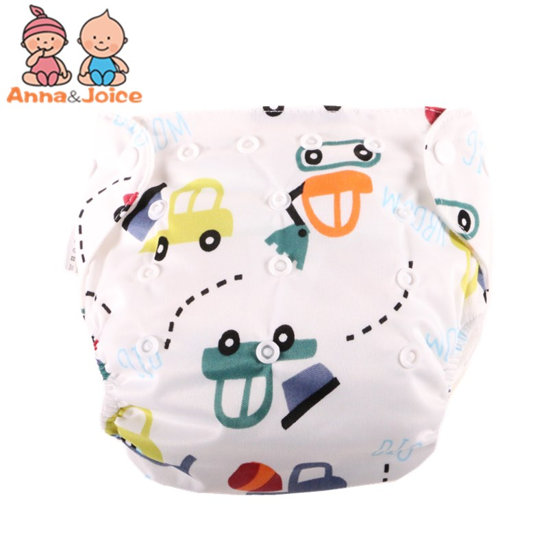30pcs/ Lot Free Shipping Baby Diapers Cloth Diaper Reusable Nappies Training Pants Diaper Cover Washable Free Size Adjustable