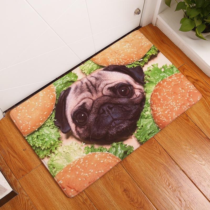 40x60cm Flannel Doormat Bath Mat