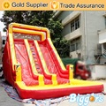 Inflable Biggor Gonflatable Toboganes Inflables en Venta Divertido Niño Al Aire Libre Diapositivas en Color Rojo Y Amarillo