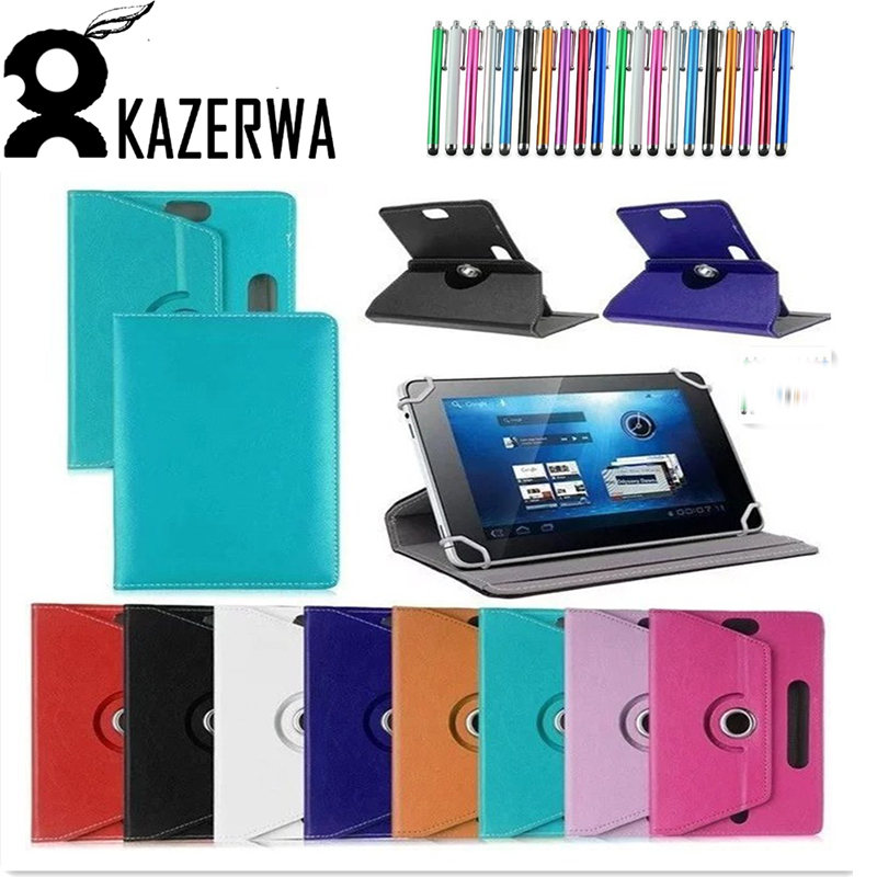7 inch Universal PU Tablet Case Cover For Huawei MediaPad T1 Tablet case for huawei t1 7.0 T1-701u for lenovo Tab 3 710F 7 +Pen pu leather case for ipad mini 1 2 3 7 9 inch universal tablet case for huawei t1 701 m2 7 sleeve bag for samsung tab 3 4